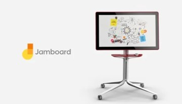 Jamboard, concepto de pizarra digital colaborativa conectada a la nube de Google