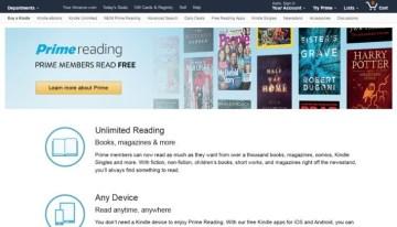 Prime Reading, el nuevo beneficio para suscriptores Prime de Amazon