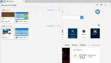 Microsoft Edge tendrá nuevas funciones para guardar pestañas en grupos