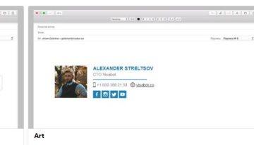 Signbot, herramienta web para agregar firmas personalizadas a tu correo electrónico