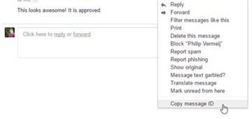 Gmail message ID finder, extensión para gestionar mejor tu correo de Gmail