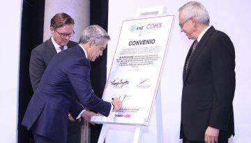 AT&T en México y el Metro de la CDMX anuncian Red 4G LTE y WiFi para usuarios