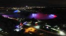 Philips Lighting controla la espectacular iluminación LED nueva en las cataratas del Niágara