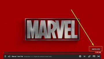 Netflix ahora cuenta con un nuevo botón para omitir la introducción de la series