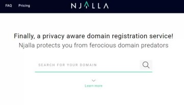 Njalla, servicio de registro anónimo de dominios web creador por el fundador de Pirate Bay