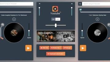 YouTube DJ, sitio web que permite realizar mezclas y compartirlas con tus contactos