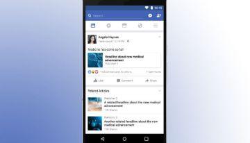 Con la finalidad de combatir las noticias falsas, Facebook mostrará noticias relacionadas
