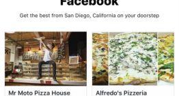 Facebook realiza pruebas para ofrecer pedido de comidas desde su aplicación