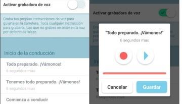 Las instrucciones de voz personalizadas llegan a Waze