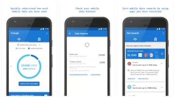 Triangle, una aplicación experimental de Google que nos ayuda a controlar mejor el consumo de datos