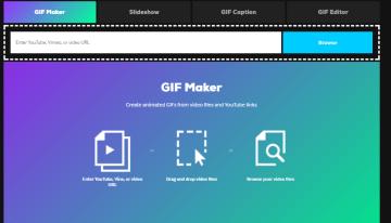 Giphy ya permite crear Gifs animados desde el navegador en dispositivos moviles