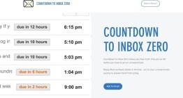 Countdown to Inbox Zero, extensión para Google Chrome que facilita tener la bandeja de entrada siempre limpia