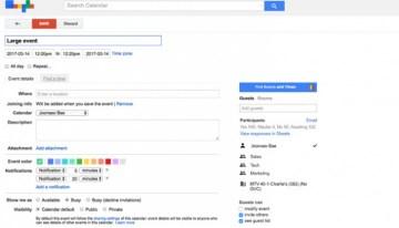 Google Calendar agrega nuevas funciones para organizar eventos