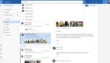 Microsoft liberó una nueva versión Beta de Outlook.com