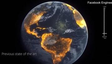 Facebook usa la inteligencia artificial para mapear la población del mundo