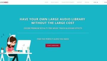 ¿Necesitas efectos sonoros o fondos musicales para tus proyectos?, Audio Hero te puede ayudar