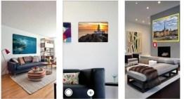 Picturethat, app que usa la Realidad Aumentada para visualizar cómo quedarían los cuadros antes de colgarlos