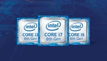 Conoce la nueva línea de procesadores Intel Core de 8ageneración