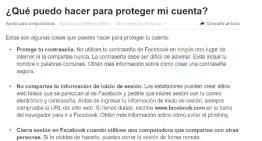 Aprende a mantenerte alerta y a reportar estafas en Facebook