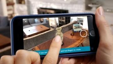 Amazon incluye realidad virtual en su app para que veamos sus objetos en nuestra casa