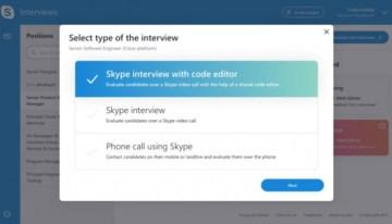 Skype Interviews Scheduler, una nueva herramienta para ayudar en los procesos de reclutamiento
