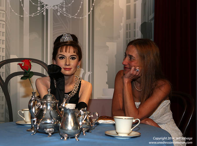 Madame Tussauds -  A Breakfast at Tiffany's