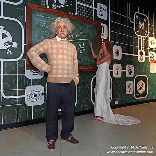 Madame Tussauds - Alfred Einstein