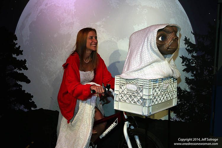 Madame Tussauds - ET Phone Home