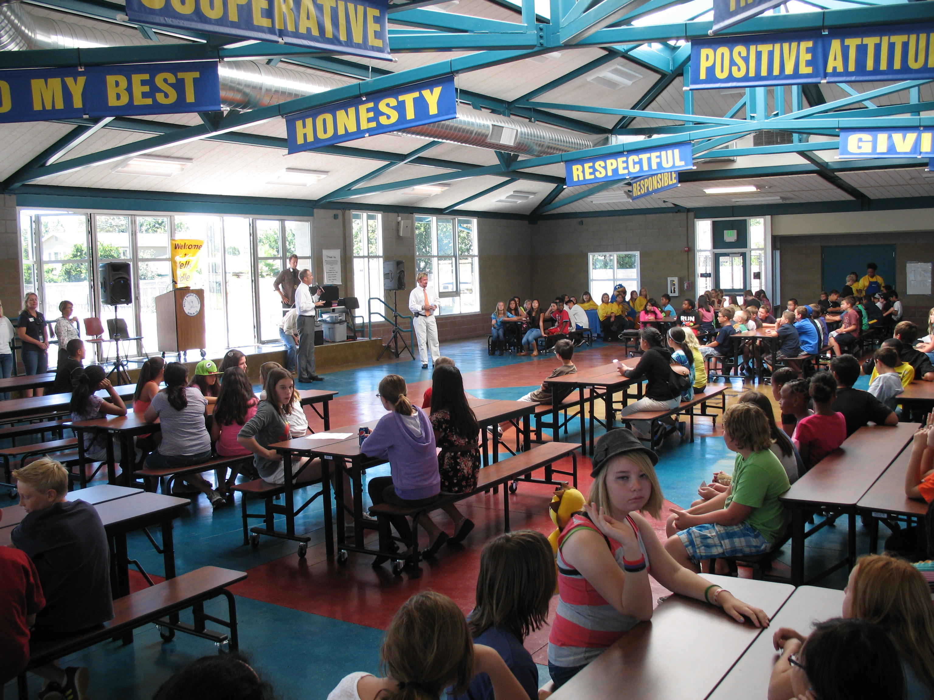 Annual Wells Middle School Event Eases The Transition To