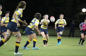 Alexandra with Cal Rugby