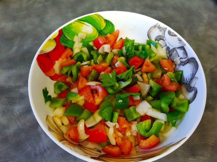 Trampo; The Mallorca Summer Salad 1 - One Epic Road Trip Blog