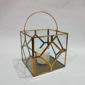 Lantern and Terrarium and Vase