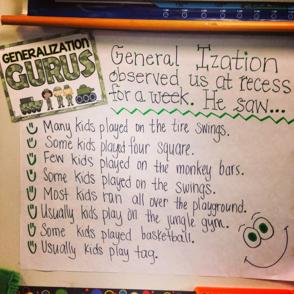 General Ization
