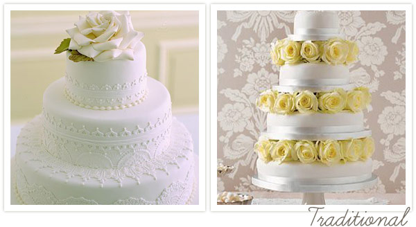 Wedding Cake Styles - One Fab Day Guide
