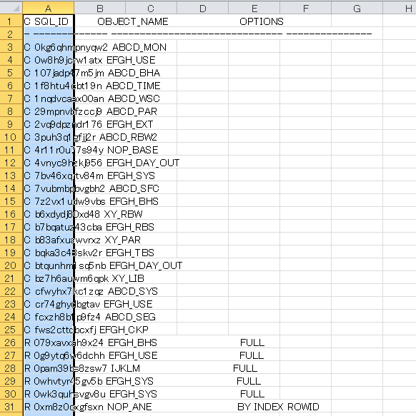 Excelにコピー&ペースト