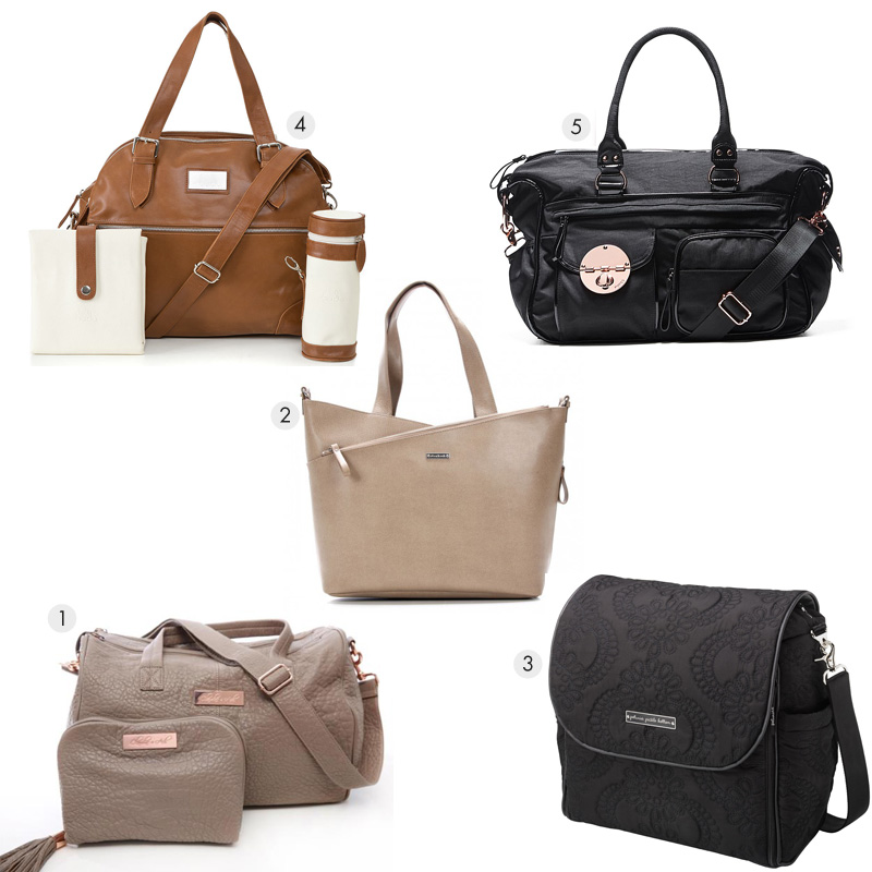 Baby Bags Flatlay
