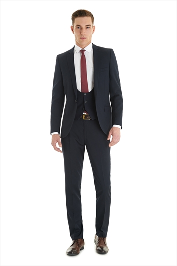 Ventuno 21 Slim Fit tengerészkék öltöny , Ventuno 21 Slim Fit Navy suit Forrás:http://www.moss.co.uk