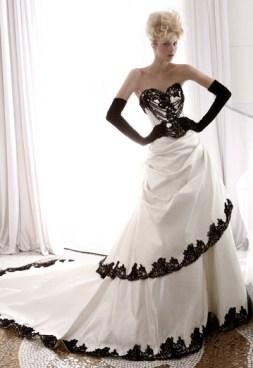 Atelier Aimée Black & White collection 2 Forrás:http://www.atelieraimeebridalcouture.com/