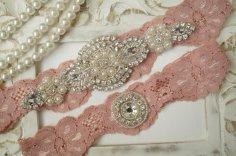 Esküvői harisnyakötő 13 , Bridal garter 13 Forrás:http://www.etsy.com