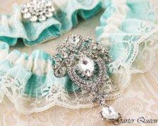 Esküvői harisnyakötő , Bridal garter Forrás:http://www.etsy.com