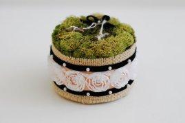 Wedding ring bearer pillow alternatives 23Forrás:http://www.etsy.com