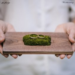 Wedding ring bearer pillow alternatives 9 Forrás:http://www.etsy.com