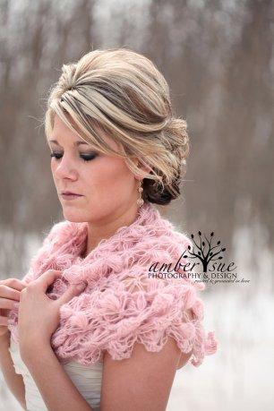 Horgolt esküvői vállkendő 6 Crocheted bridal shawl,shrag 6 Forrás:http://www.etsy.com