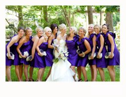 Koszorúslány kézitáska 12, Wedding bridesmaid clutches 12 Forrás:http://www.etsy.com