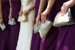 Koszorúslány kézitáska 2, Wedding bridesmaid clutches 2 Forrás:http://www.etsy.com