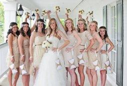 Koszorúslány kézitáska 6, Wedding bridesmaid clutches 6 Forrás:http://www.etsy.com