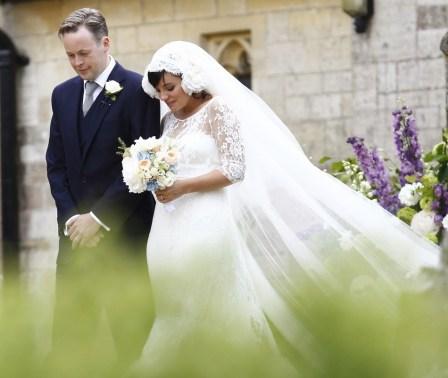 Lily Allen esküvői fotó / Lilly Allen wedding photo