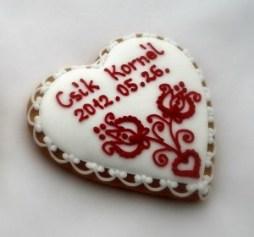 Mézeskalács ültetőkártya 2 / Gingerbread seating card 2 Forrás:http://mezeskalacskoszonetajandek.hu