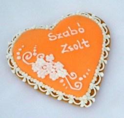 Mézeskalács ültetőkártya 3 / Gingerbread seating card 3 Forrás:http://mezeskalacskoszonetajandek.hu