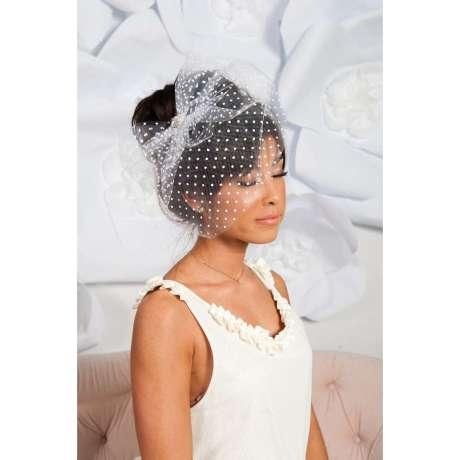 Pöttyös menyasszonyi fátyol 3/ Polka-dots-and-spots-wedding veil 3 Forrás:http://www.thisnext.com